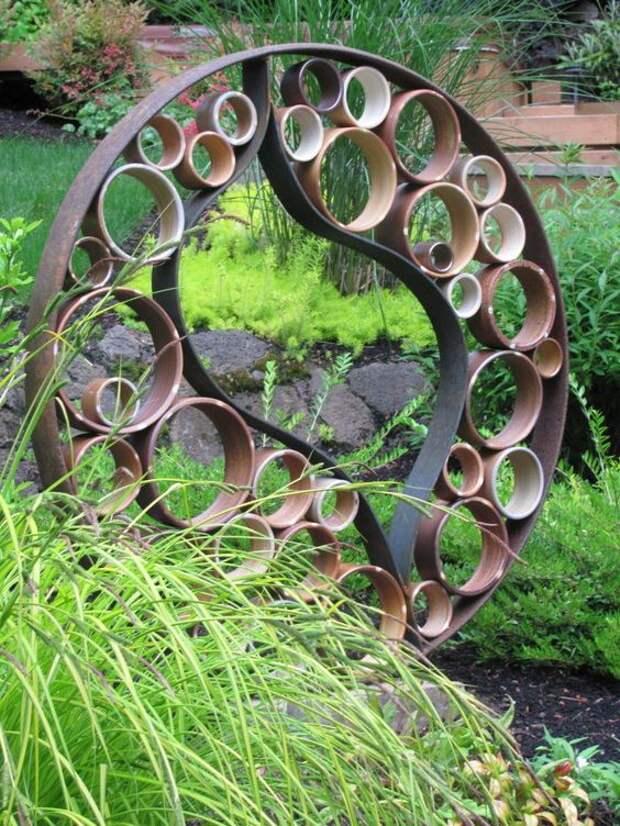 Садовый арт. Металл