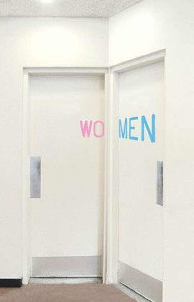 Таблички туалетов (подборка)