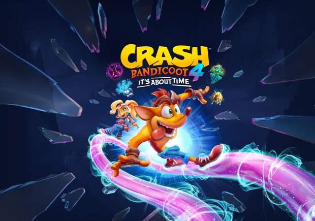Анонсирована дата выхода платформера Crash Bandicoot 4 на компьютерах
