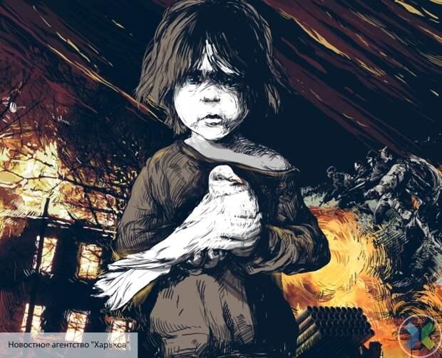 Дети Донбасса Зеленскому: Сколько еще должно погибнуть детей, чтобы война в Донбассе наконец прекратилась?