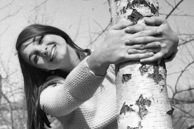 Молдавская актриса Светлана Тома. 1969 год.