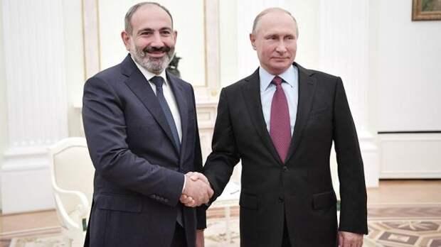 Пашинян: Россия выполнит обязательства перед Арменией