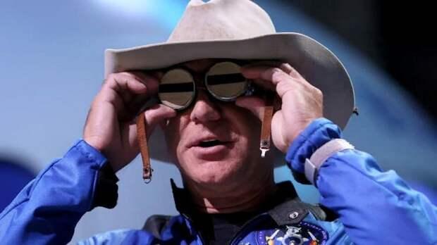Джефф Безос предложил покрыть расходы наса на 2 миллиарда долларов в обмен на лунный контракт на Blue Origin 26.07.2021 [19:57]
