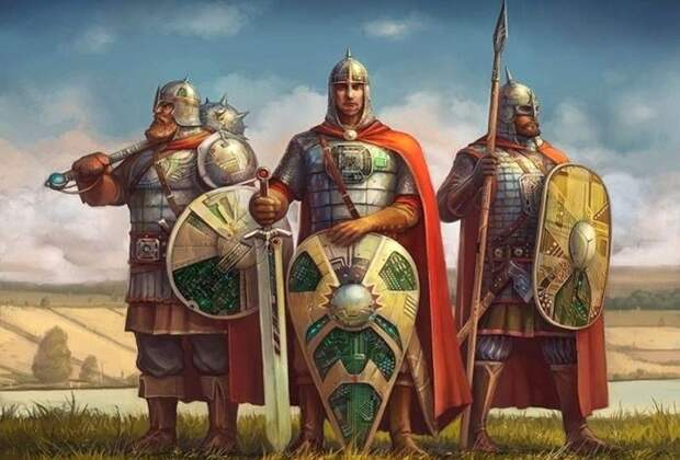 Кольчуга, палица и боевой топор: как были защищены и чем вооружены богатыри в реальности