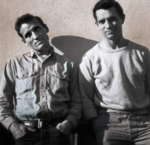 Джек Керуак и Нил Кэссиди. / Фото: www.pinimg.com