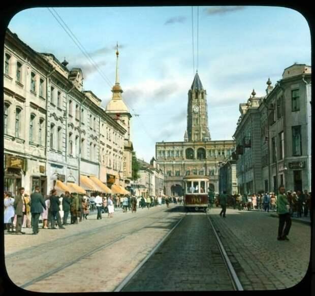 Москва 1930-32 гг. в цвете: утраты