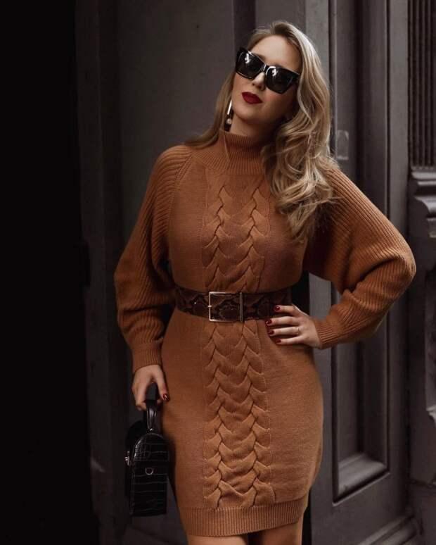 Платья с цельнокроеным рукавом: модный акцент для любой фигуры