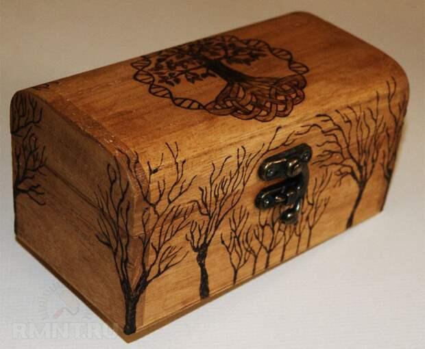Выжигание по дереву: интересные DIY-проекты