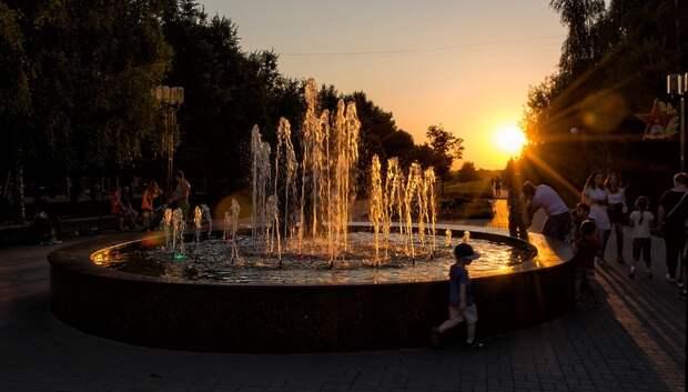 До плюс 25 градусов и без осадков ожидается в понедельник в Подольске