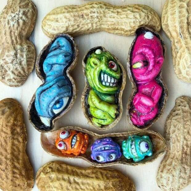 Искусство в арахисе от Стива Касино