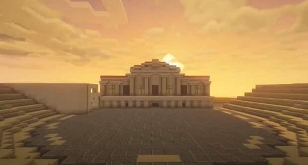 Десятиклассник из Липецка построит Херсонес Таврический в игре «Майнкрафт»