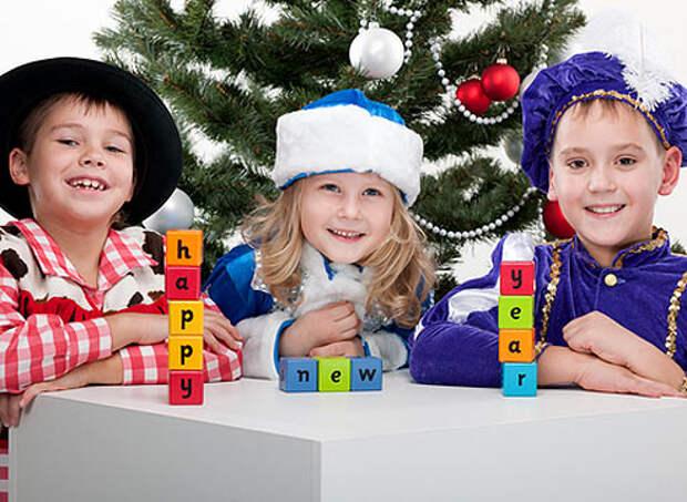 Новый год, игры с детьми