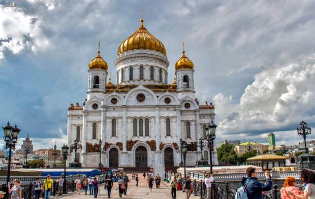 Храм Христа Спасителя в Москве (храмы и монастыри)