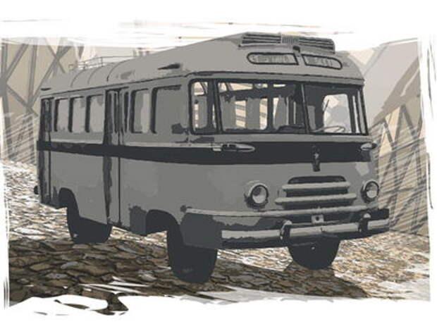БАРЗ‑1: первый советский автобус с гнутыми стеклами