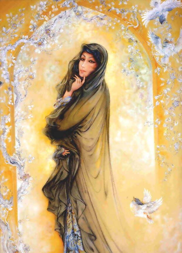 Картины персидского художника Махмуда Фаршчияна