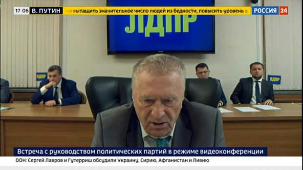 Жириновский предложил Путину отправить в ссылку протестующих на Пушкинской площади и иноагентов