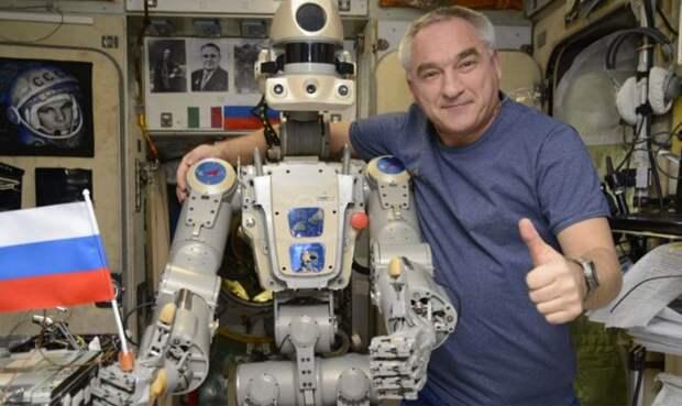 Робот Федор обвинил российских космонавтов в пьянстве