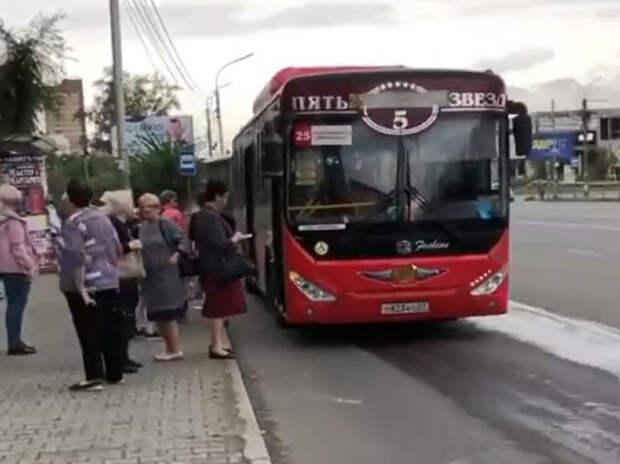 Водители автобусов в Хабаровске высадили пассажиров ради намаза