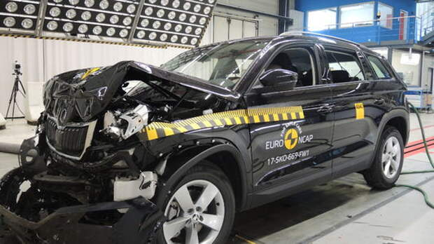 Skoda Kodiaq и другие новинки в краш-тестах Euro NCAP