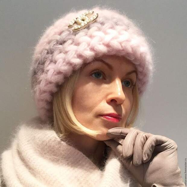 Вязаные шапки для женщин. Тренды этой зимы