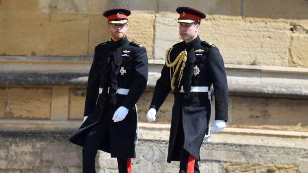 Уильям и Гарри поговорили после похорон принца Филиппа