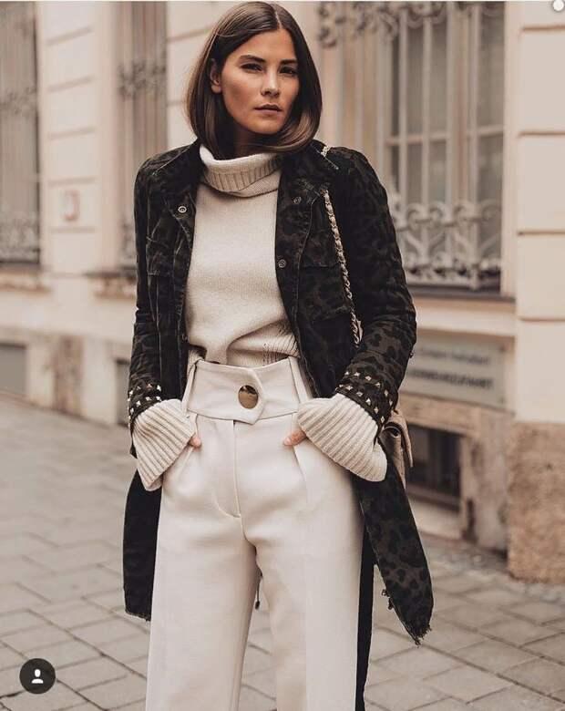 Как в 2021 году современно и интересно носить джемпер (свитер)