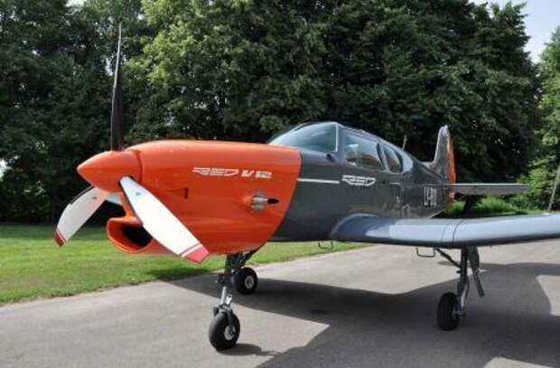 Як-18Т, оснащенный инновационным авиационным дизельным двигателем RED A03