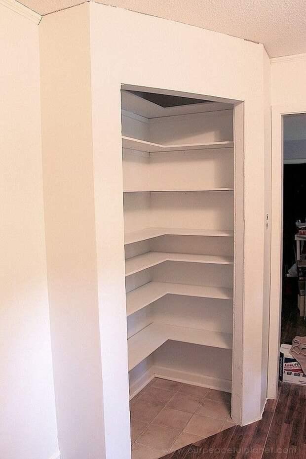 Удобные дизайны гардероба для маленькой спальни