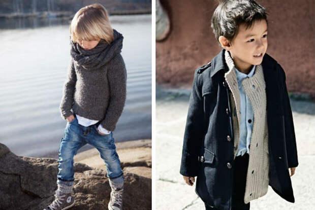 Самые модные осенние луки для мальчика-дошкольника