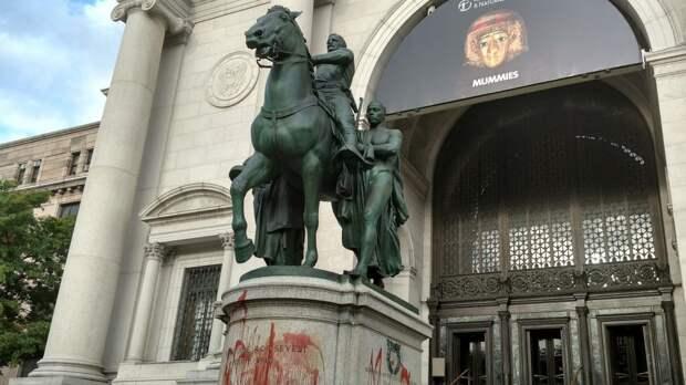 Российский фонд предложил выкупить памятник Рузвельту в США