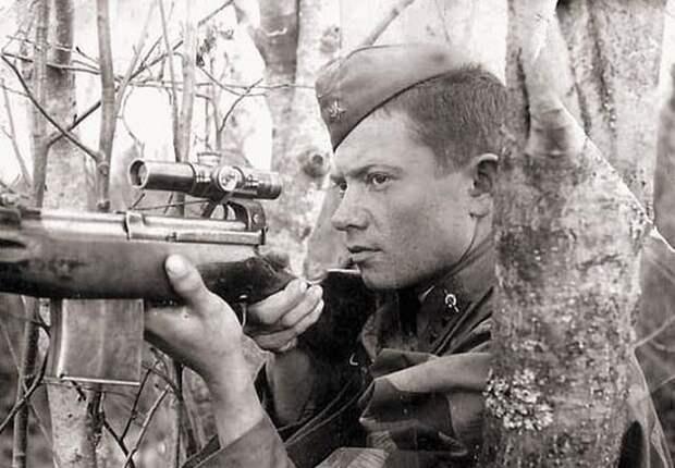 Почему немецкие стрелки проигрывали дуэли советским снайперам