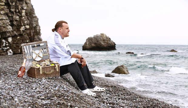 отдых на море пикник