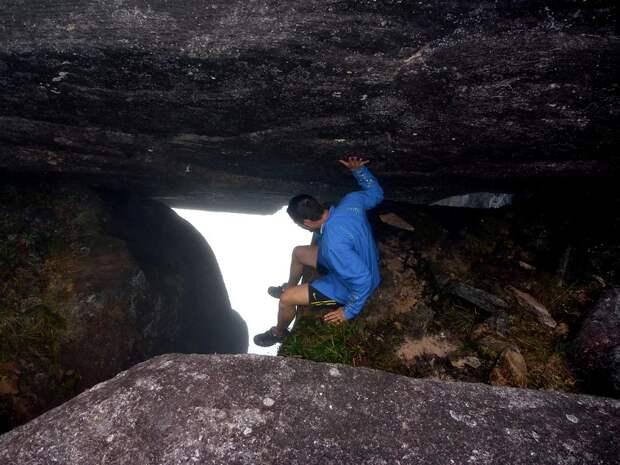 Столовая гора (тепуи) Рорайма в Венесуэле. Фото