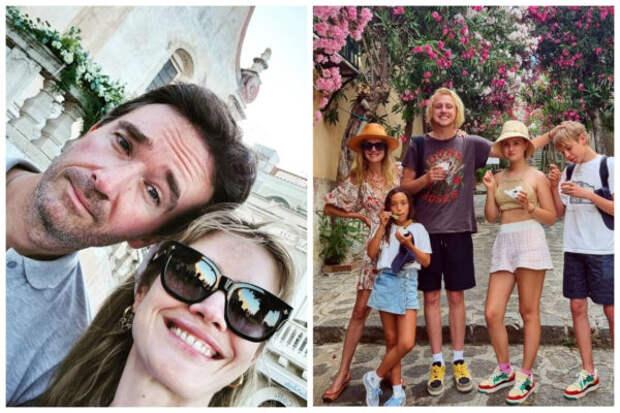 Посмотрите, как Наталья Водянова отдыхает в Италии...