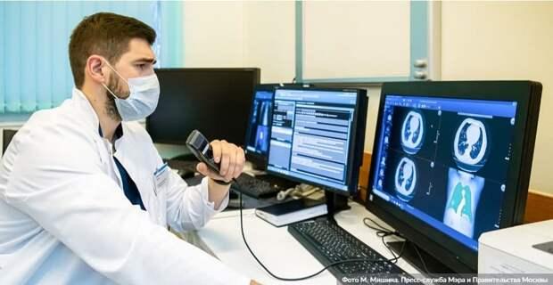 В Москве подвели первые итоги эксперимента по внедрению ИИ в медицину. Фото: М.Мишин, mos.ru