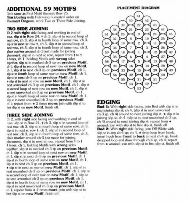 Праздничный декор: мятные леденцы как узор для вязания