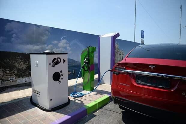 Электрокары можно будет заряжать на трассе «Таврида»