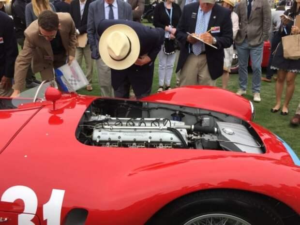 У победителя конкурса красоты довольно мощный двигатель. | Фото: maynardsgarage.com.