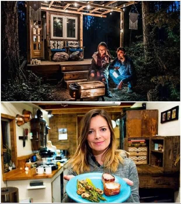 Девушка, которая давно живет в крошечном доме, поделилась впечатлениями и опытом