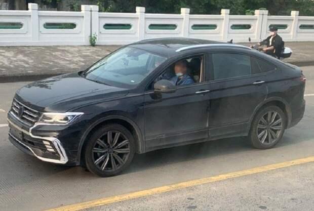 Volkswagen Tiguan попытались замаскировать под китайский паркетник