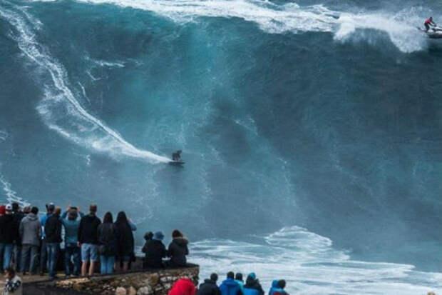 Самые большие волны, снятые на видео