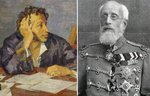 Чем вошёл в историю старший сын Пушкина: Генерал русской армии, отец 13 детей, попечитель и др