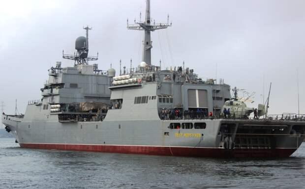 Большой десантный корабль «Петр Моргунов» передадут МВФ 15 декабря