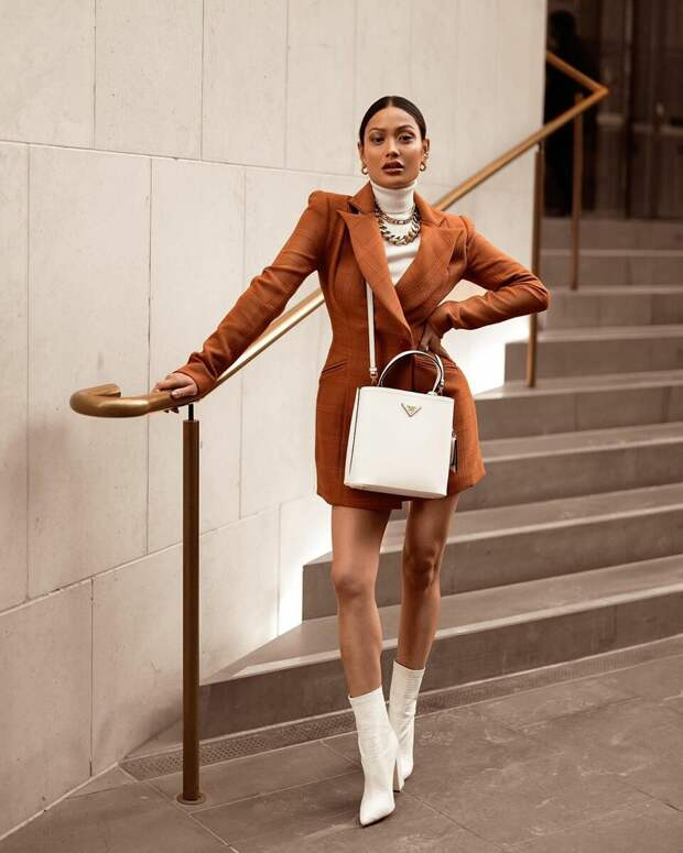 Платье-пиджак: 12 потрясающих моделей для стильных леди