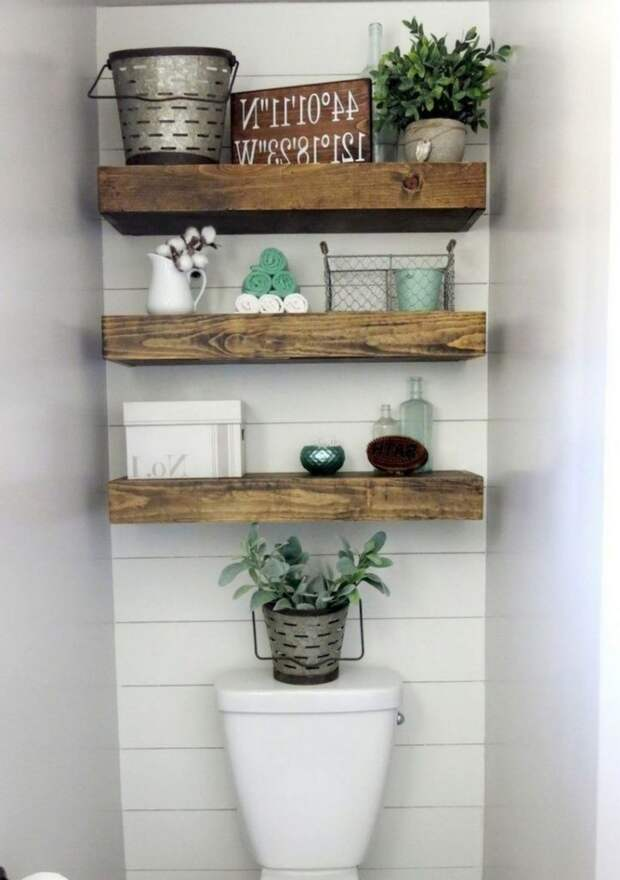 Практичные идей по организации хранения вещей в ванной комнате