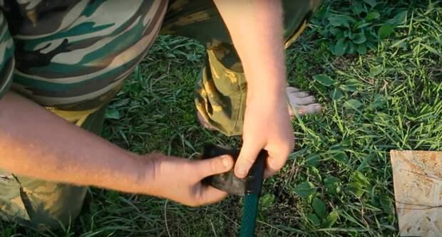 Действующий способ починить дырявый шланг буквально за пару минут