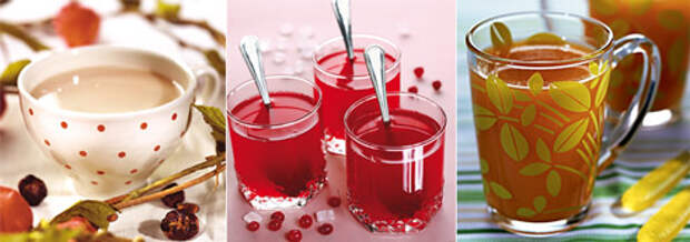 Простуда: лечение едой