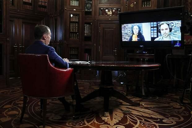 Заместитель председателя Совета безопасности ответил на вопросы журналистов «Комсомольской правды» в эфире радио «КП». Фото: Екатерина Штукина