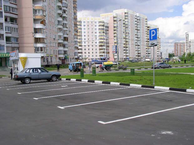 В Северном округе создадут 50 новых парковочных мест