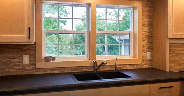 Оригинальная отделка стены на кухне: создаем интерьер своими руками